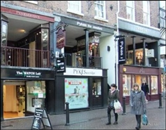 921 SF High Street Shop for Rent  |  18 Eastgate Street, Chester, CH1 1LX