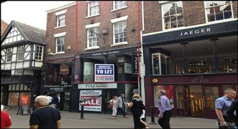 1,560 SF High Street Shop for Rent  |  20 Eastgate Row, Chester, CH1 1LE