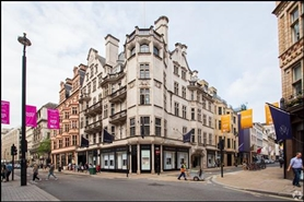 1,203 SF High Street Shop for Rent  |  45 Old Bond Street, London, W1S 4QT