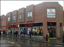 1,285 SF High Street Shop for Rent | 32 Printing Office Street, Doncaster, DN1 1TR