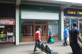 712 SF Shopping Centre Unit for Rent  |  Unit 25 Gwent Shopping Centre, Tredegar, NP22 3EJ