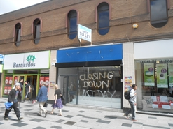 1,898 SF High Street Shop for Rent  |  Unit 4, 221/231 High Street, Slough, SL1 1BY