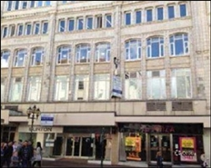 2,350 SF High Street Shop for Rent  |  Roddis House, Bournemouth, BH1 1LG