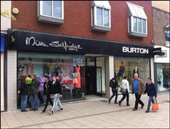 2,467 SF High Street Shop for Rent  |  20 - 22 St Stephens Street, Norwich, NR1 3SA