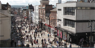 2,926 SF High Street Shop for Rent  |  85-87 Briggate, Leeds, LS1 6NP