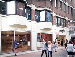 1,301 SF High Street Shop for Rent  |  11 - 12 Carnaby Street, London, W1F 9PQ