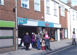 High Street Shop for Rent  |  44 - 48 East Street, Blandford Forum, DT11 7DR