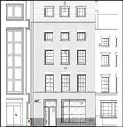 1,632 SF High Street Shop for Rent  |  74 Charlotte Street, London, W1T 4QH