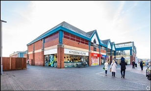 350 SF Shopping Centre Unit for Rent  |  Unit 36, Spinning Gate Shopping Centre, Leigh, WN7 4PG