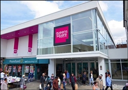 10,828 SF Shopping Centre Unit for Rent  |  Unit 20-23, Queens Square Shopping Centre, West Bromwich, B70 7NG
