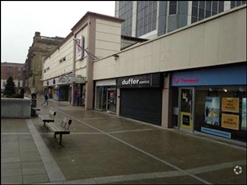 1,146 SF Shopping Centre Unit for Rent  |  52 King William Street, Blackburn, BB1 7JG