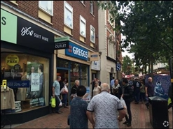 586 SF High Street Shop for Rent | 2A Market Place, Rugby, CV21 3DY