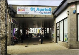 581 SF Shopping Centre Unit for Rent  |  Unit 2, St Austell, PL25 5YY