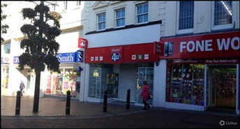 1,179 SF High Street Shop for Rent  |  15 Old Christchurch Road, Bournemouth, BH1 1DR