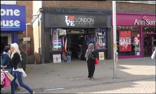 1,495 SF High Street Shop for Rent  |  135 North End, Croydon, CR0  1TN