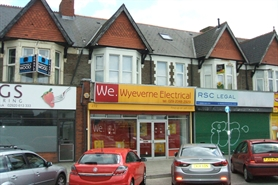 902 SF High Street Shop for Rent | 272 North Road, Cardiff, CF14 3BL