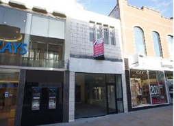 630 SF High Street Shop for Rent  |  29 Regent Street, Swindon, SN1 1JS