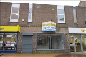 844 SF High Street Shop for Rent  |  42 Low Street, Sutton In Ashfield, NG17 1DG