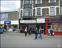 637 SF High Street Shop for Rent  |  16 Taff Street, Pontypridd, CF37 4UA