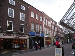 390 SF High Street Shop for Rent  |  49 Broad Street, Worcester, WR1 3LR