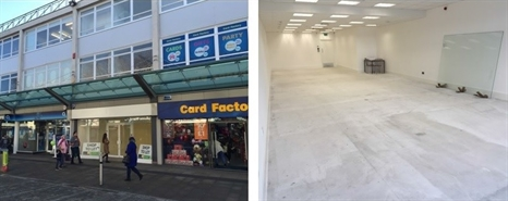 1,367 SF High Street Shop for Rent  |  808 Oxford Street, Swansea, SA1 3AF