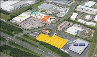 7,750 SF Retail Park Unit for Rent  |  Unit 4a, The Peel Centre, Washington, NE37 2PA