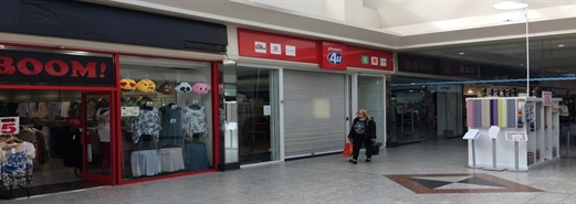 1,109 SF Shopping Centre Unit for Rent  |  Unit 30, Ankerside Shopping Centre, Tamworth, B79 7LG