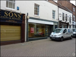 288 SF High Street Shop for Rent  |  6 Market Street, Lichfield, WS13 6LH