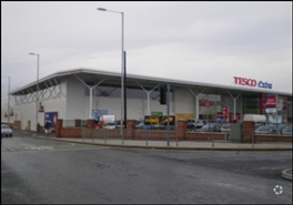 1,005 SF Out of Town Shop for Rent  |  Unit 2, Tesco Extra, Manchester, M18 8LD
