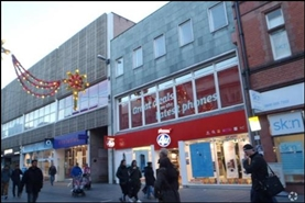 1,054 SF High Street Shop for Rent | 31 - 33 Gallowtree Gate, Leicester, LE1 5AD