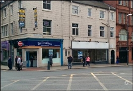 388 SF High Street Shop for Rent  |  161 The Headrow, Leeds, LS1 2