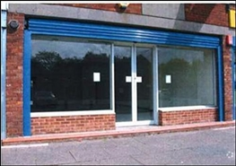 592 SF High Street Shop for Rent | 41 Castle Drive, Willenhall, WV12 4QY