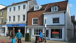 1,187 SF High Street Shop for Rent  |  71 - 72 North Street, Chichester, PO19 1LP