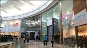 2,050 SF Shopping Centre Unit for Rent  |  Unit 210 Upper Mall, Intu Chapelfield, Norwich, NR2 1SH