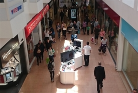 700 SF Shopping Centre Unit for Rent  |  Unit 4, Guildhall Shopping Centre, Exeter, EX4 3HP