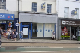 1,427 SF High Street Shop for Rent  |  71 Union Street, Torquay, TQ1 3DA