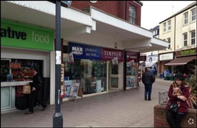 817 SF High Street Shop for Rent  |  9 Magnolia Walk, Exmouth, EX8 1HB