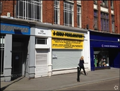900 SF High Street Shop for Rent  |  13 Scot Lane, Doncaster, DN1 1EW
