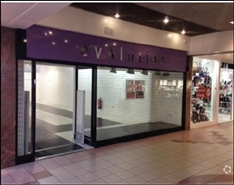 1,005 SF Shopping Centre Unit for Rent  |  20 Bradford Mall, Saddlers Centre, Walsall, WS1 1YS