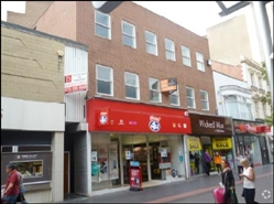 1,299 SF High Street Shop for Rent  |  49 Linthorpe Road, Middlesbrough, TS1 5BS