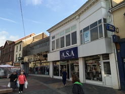 1,813 SF High Street Shop for Rent  |  34 - 36 High Street, Merthyr Tydfil, CF47 8DE
