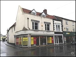 1,350 SF High Street Shop for Rent   92 Eastgate, Louth, LN11 9PG