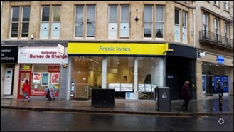 1,170 SF High Street Shop for Rent  |  Wheeler Gate Chambers, Nottingham, NG1 2NA