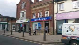 643 SF High Street Shop for Rent  |  33 High Street, Alfreton, DE55 7DR