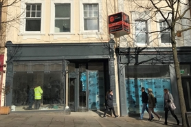 1,808 SF High Street Shop for Rent  |  2 - 4 Chapel Bar, Nottingham, NG1 6JS