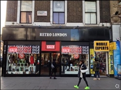 2,194 SF High Street Shop for Rent  |  145 Oxford Street, London, W1D 2JG