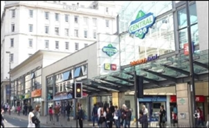 3,830 SF Shopping Centre Unit for Rent  |  Unit 15, Central Shopping Centre, Liverpool, L1 1QT
