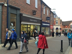 1,175 SF Shopping Centre Unit for Rent  |  Unit  4 Steeplegate, Chesterfield, S40 1PY