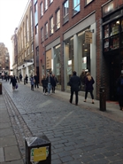 1,447 SF High Street Shop for Rent  |  9 - 15 Neal Street, London, WC2H 9PW