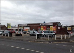 79 SF Out of Town Shop for Rent  |  Former Cheshire Vehicle Sales Premises, Newcastle Under Lyme, ST5 7HT